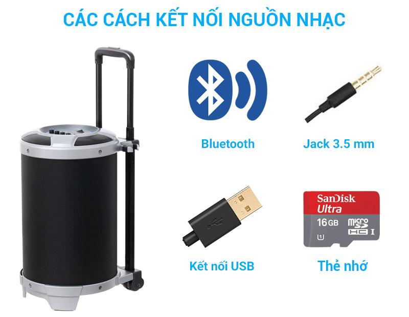 Loa Kéo Bluetooth eSaver S36