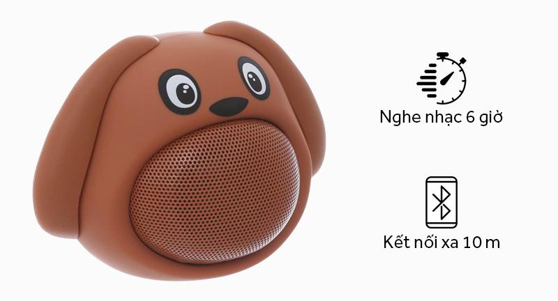 Loa Bluetooth iCutes MB-M818 Cún - Cách kết nối bằng Bluetooth dễ dàng thực hiện