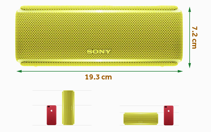 Thiết kế nhỏ gọn - Loa Bluetooth Sony SRS-XB21