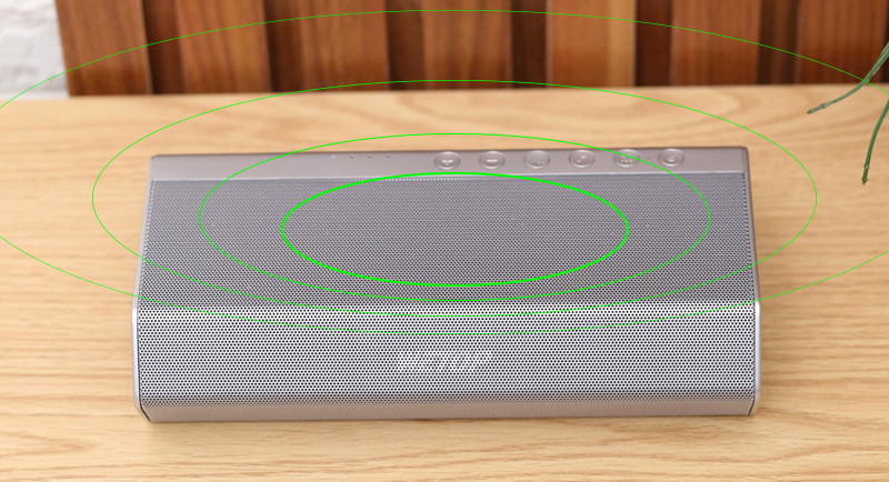 Loa Bluetooth Wetop H8008 - công suất cao