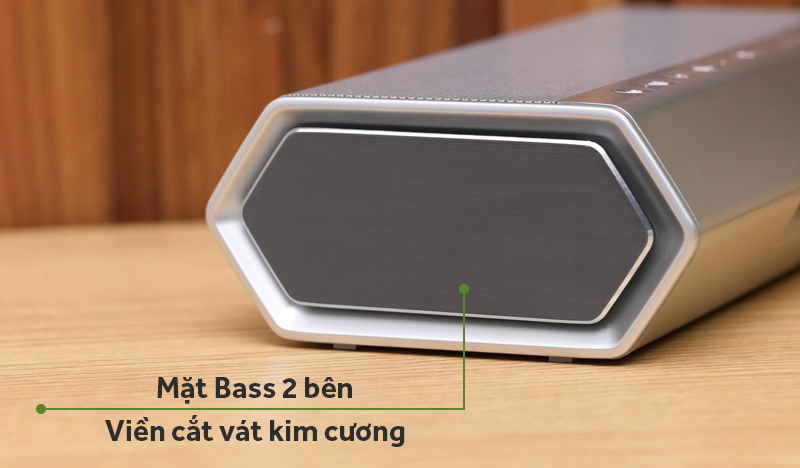 Loa Bluetooth Wetop H8008 - mắt bass 2 bên