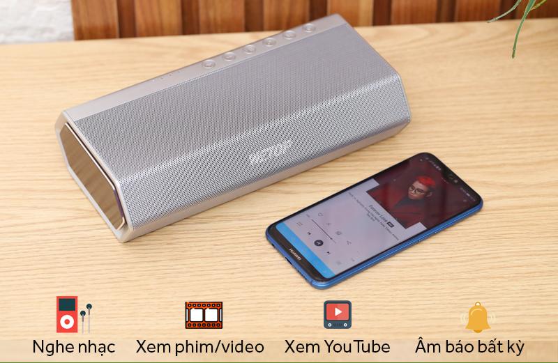 Loa Bluetooth Wetop H8008 - chức năng