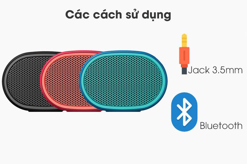 Các cách sử dụng trên Loa Bluetooth Sony SRS-XB01