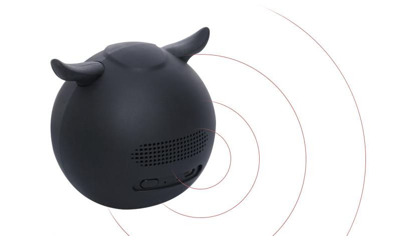 Âm thanh của Loa Bluetooth iCutes MB-M916 Cú Đen