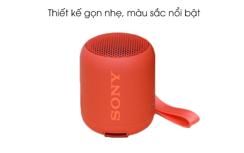 Loa Bluetooth Sony SRS-XB12 có màu sắc nổi bật