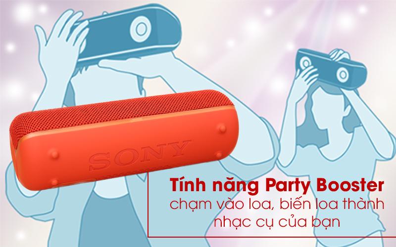 Loa Bluetooth Sony SRS-XB22 có tính năng Part Booster