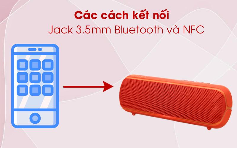 Loa Bluetooth Sony SRS-XB22 kết nối với điện thoại qua Bluetooth