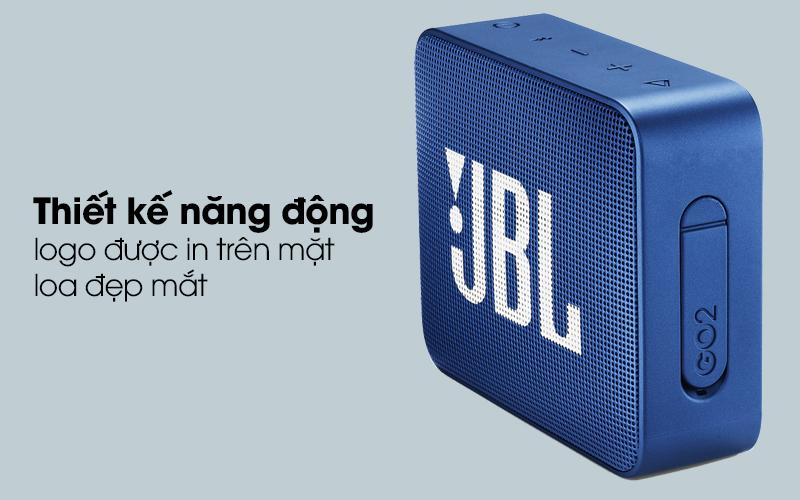 Loa Bluetooth JBL GO2BLK có thiết kế trẻ trung