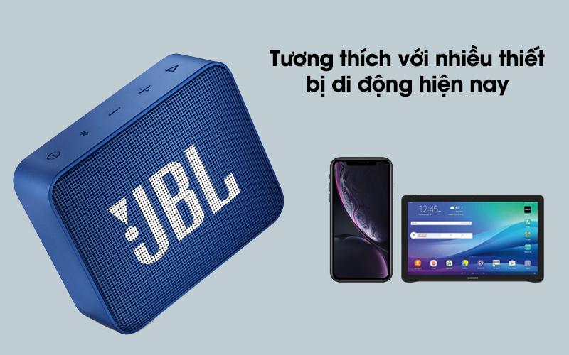 Loa Bluetooth JBL GO2BLK tương thích với nhiều thiết bị