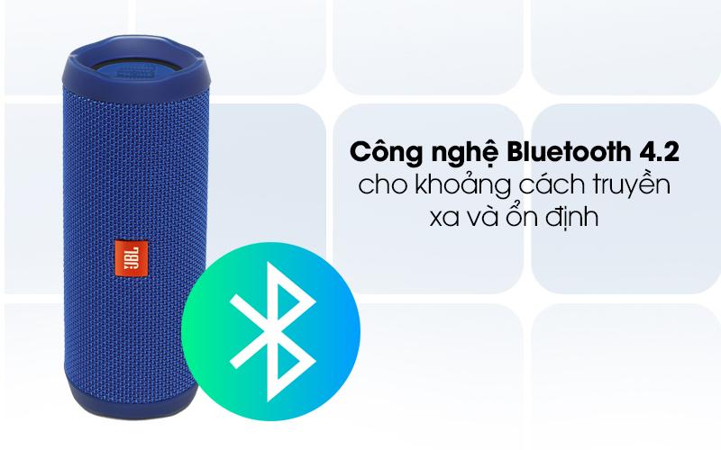 Loa Bluetooth JBL FLIP4BLU với công nghệ Bluetooth 4.2
