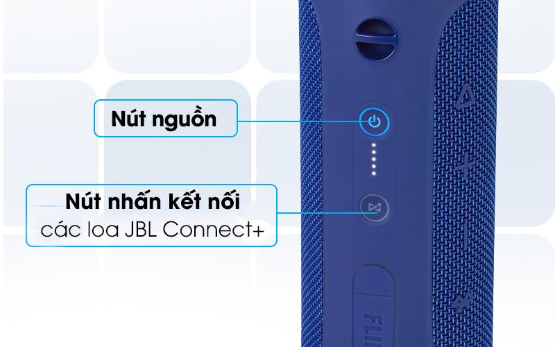 Loa Bluetooth JBL FLIP4BLU có thể kết nối nhiều loa với nhau