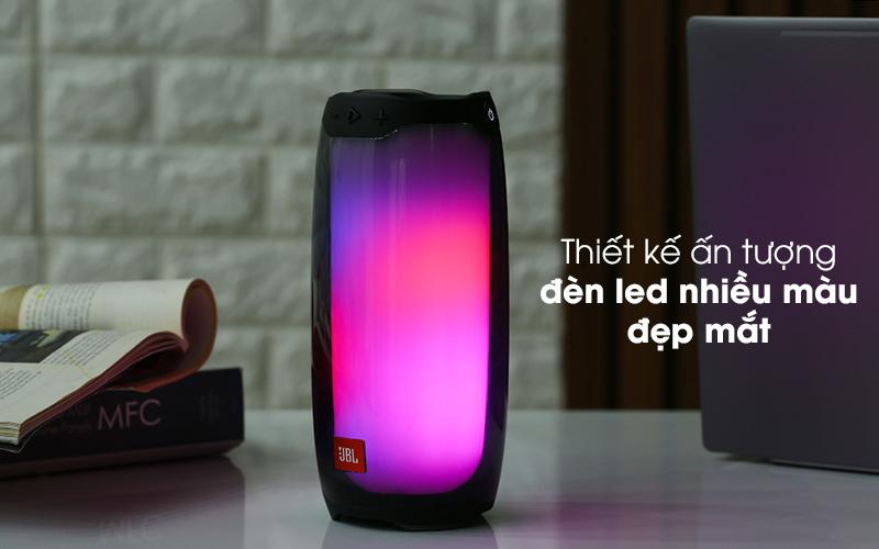 Có thiết kế đẹp mắt - Loa Bluetooth JBL Pulse 4 Đen