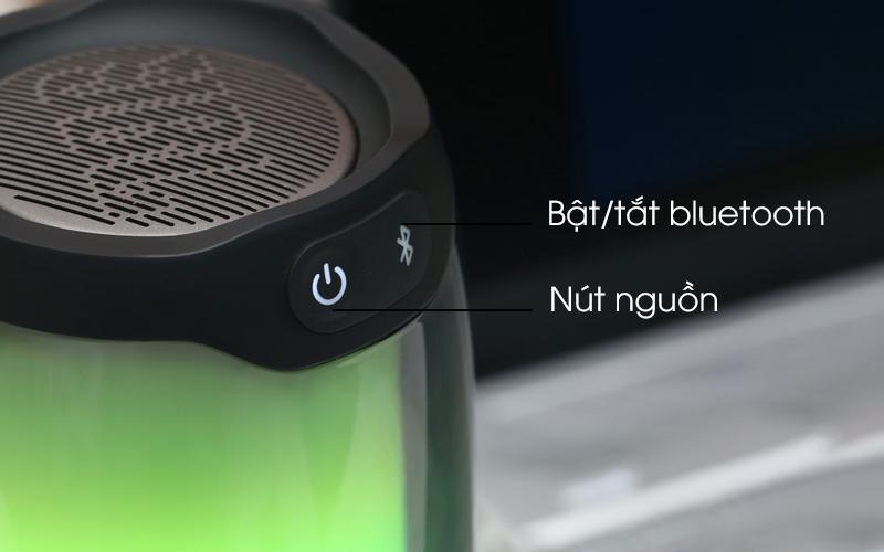 Các nút trên loa - Loa Bluetooth JBL Pulse 4 Đen