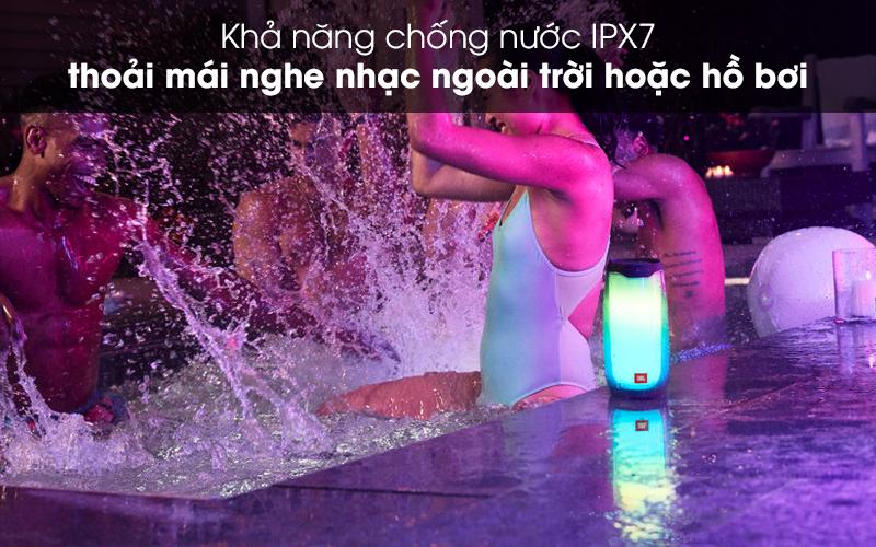 Chống nước IP67 - Loa Bluetooth JBL Pulse 4 Đen