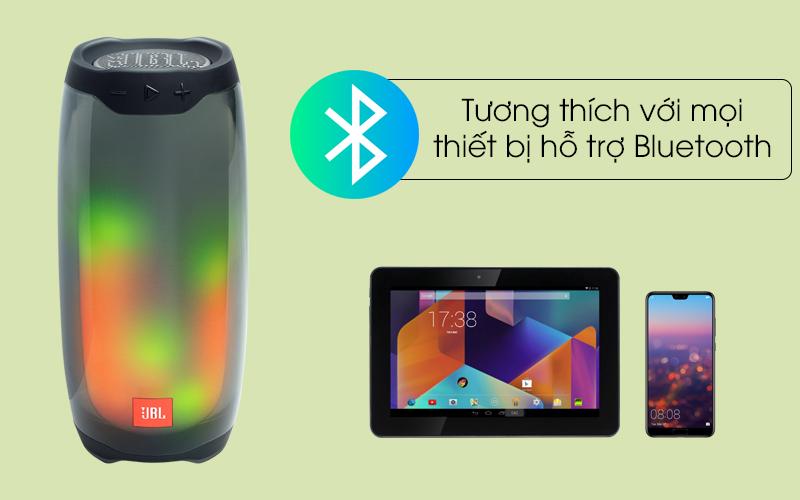 Tương thích với nhiều thiết bị - Loa Bluetooth JBL Pulse 4 Đen