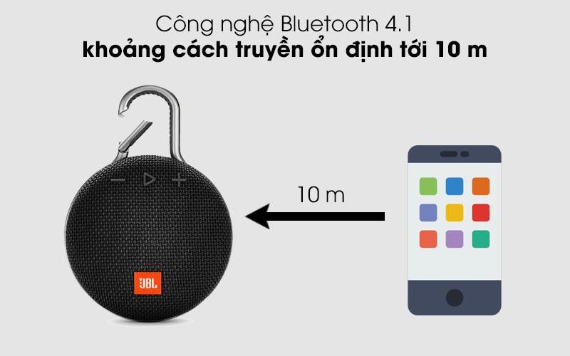 Kết nối Bluetooth ổn định - Loa Bluetooth JBL Clip 3