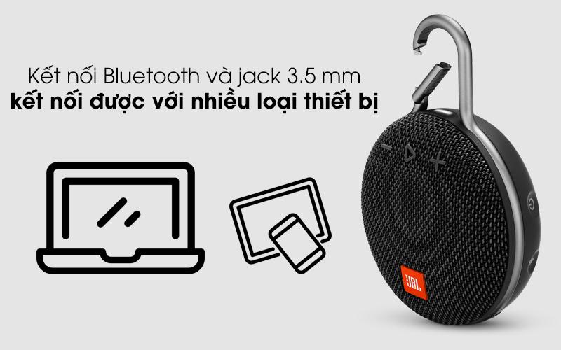 Kết nối được với nhiều thiết bị khác nhau - Loa Bluetooth JBL Clip 3