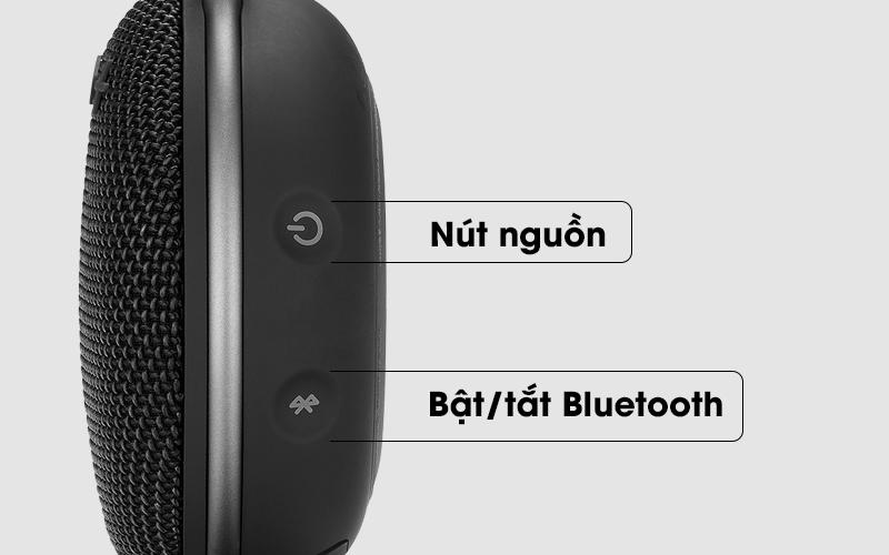 Các nút trên loa - Loa Bluetooth JBL Clip 3