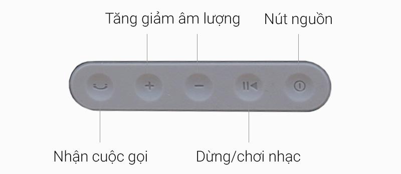 Loa Bluetooth Fenda W5 - Các nút ấn trên loa