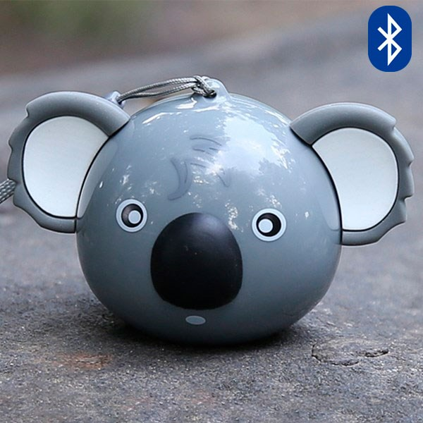Loa Bluetooth Selfie iCutes MB-M515 Gấu Xám