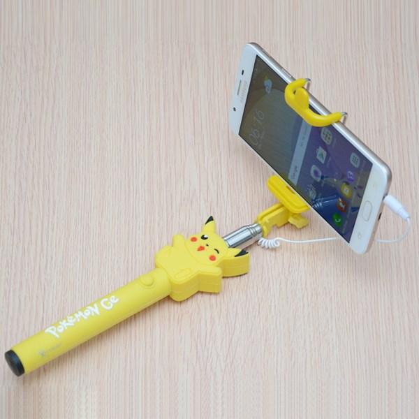 Gậy chụp ảnh Xmobile Hình Pikachu CSA006