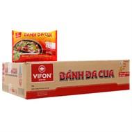 Thùng bánh đa cua ăn liền Vifon (30 gói)