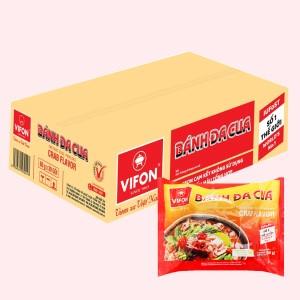 Thùng 30 gói bánh đa cua Vifon 60g