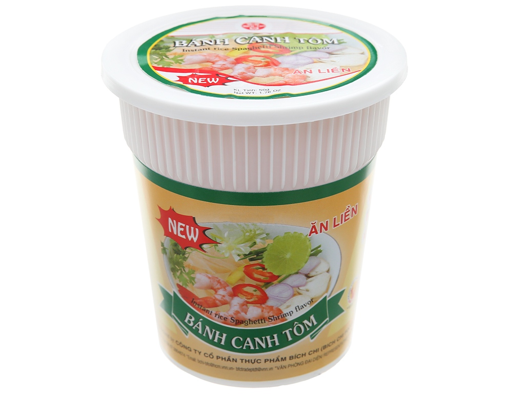 Bánh canh tôm Bích Chi ly 50g 1