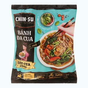 Bánh đa cua Chin-su gói 120g