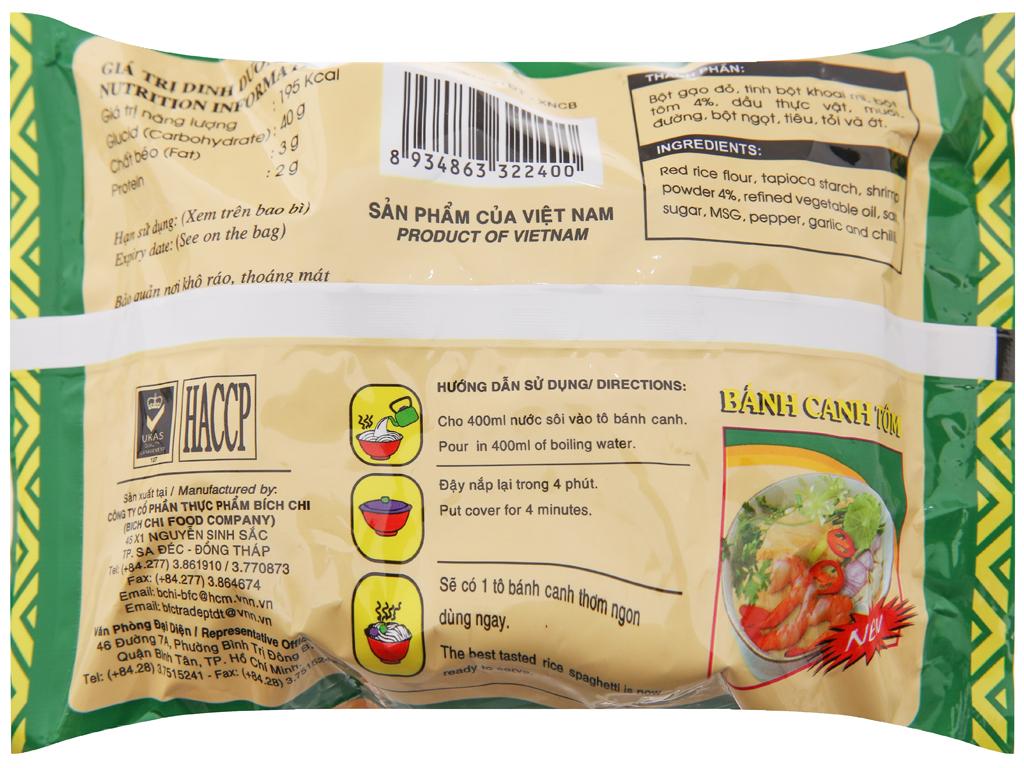 Bánh canh tôm Vina Bích Chi gói 60g 3