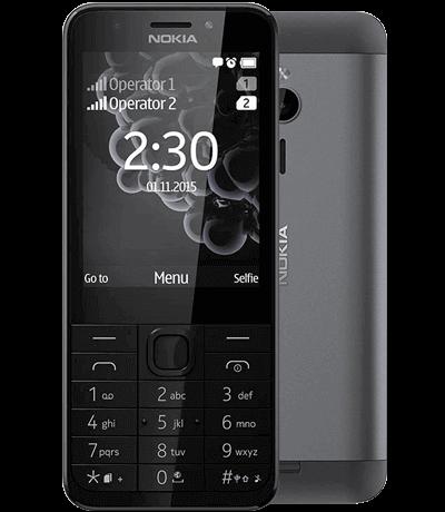 Điện thoại Nokia 230 (không tặng thẻ nhớ)