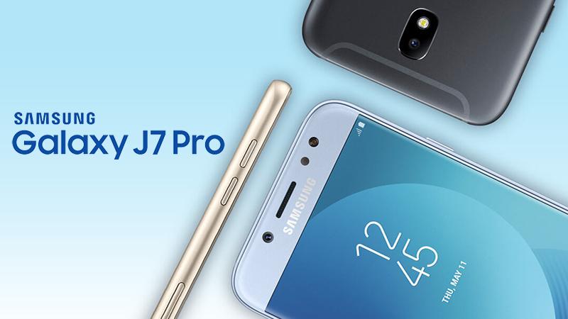 Thiết kế điện thoại Samsung Galaxy J7 Pro