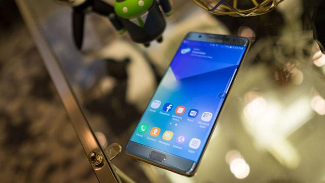 Samsung Galaxy Note 8 - អេក្រង់ប្រភេទ 4K