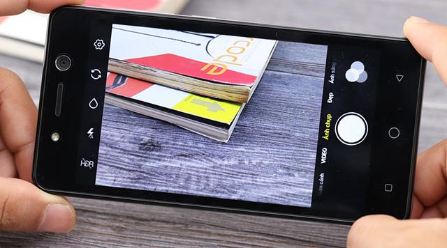 Giao diện camera điện thoại Itel S11 Plus