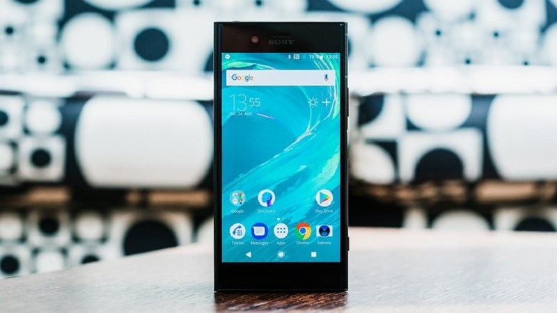 Giao diện Android của điện thoại Sony Xperia XZ1