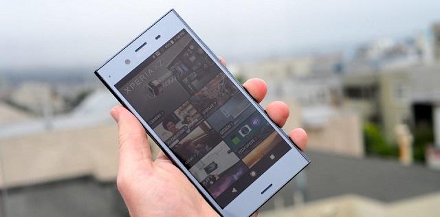 Thiết kế điện thoại Sony Xperia XZ1