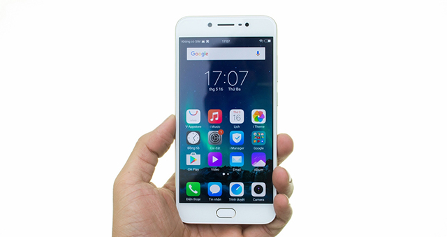 Giao diện Android điện thoại Vivo V5s