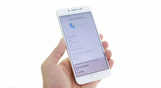 Khả năng hiển thị của điện thoại Vivo V5s