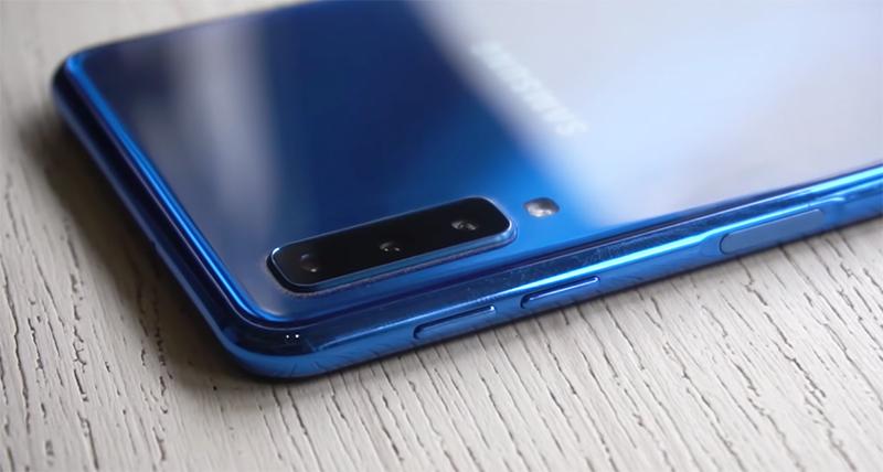 Phone - Samsung Galaxy A7 2018 - កាមេរ៉ា 3