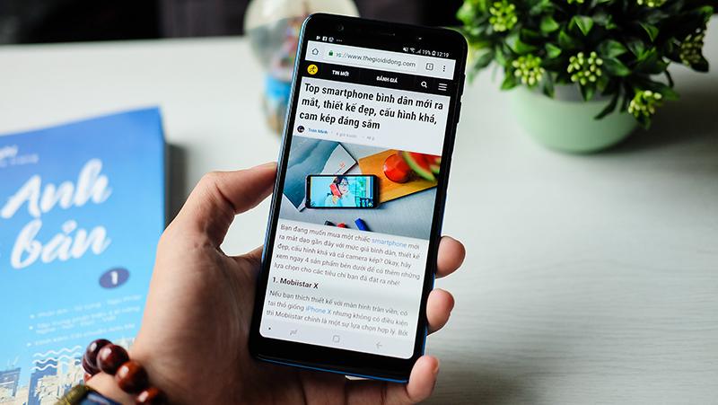 Màn hình điện thoại Samsung Galaxy A7 2018