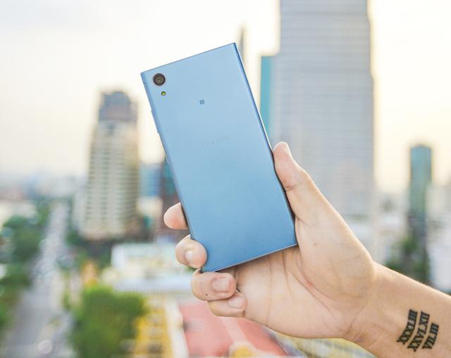 Thiết kế điện thoại Sony Xperia XA1 Plus