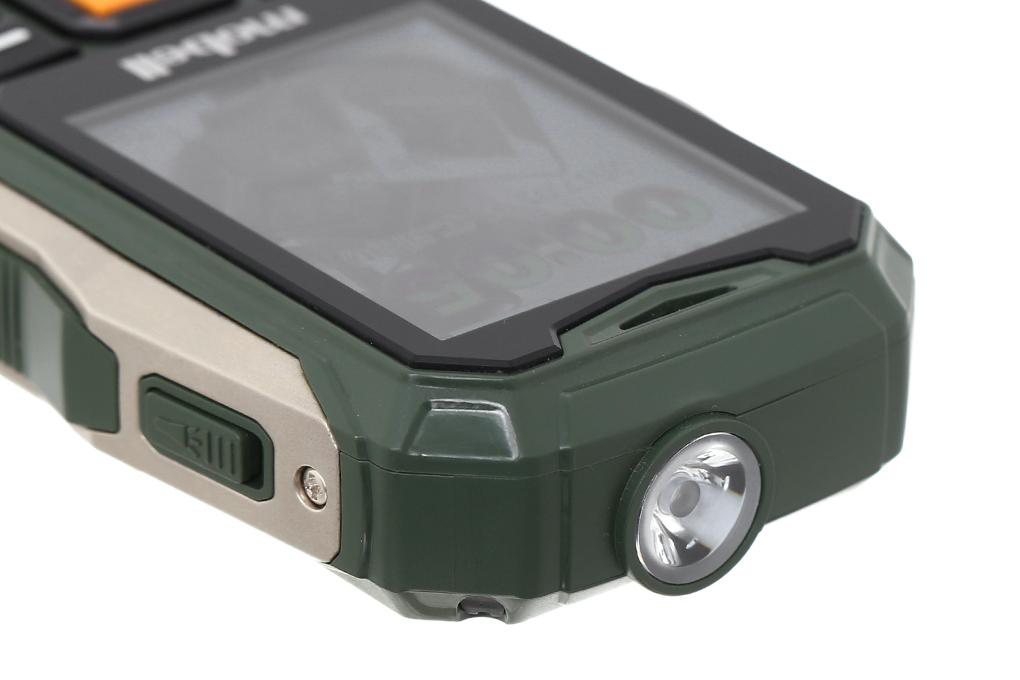 Tích hợp đèn pin trên điện thoại Mobell Rock 3