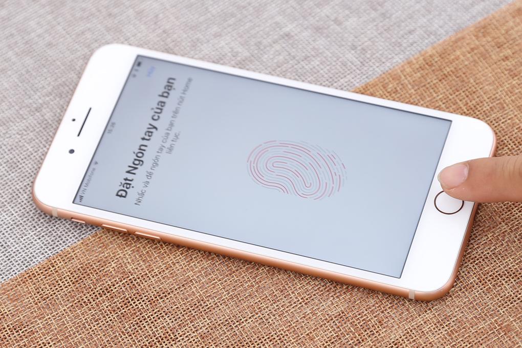 Bảo mật vân tay trên điện thoại iPhone 8 Plus