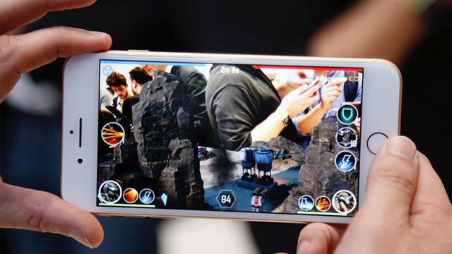 Hiệu năng trên điện thoại iPhone 8 Plus