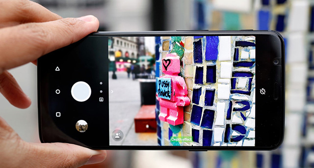 Giao diện camera dễ sử dụng