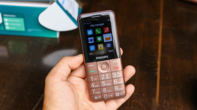 Bàn phím điện thoại Philips E331
