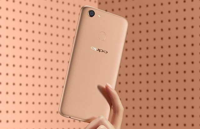 Thiết kế điện thoại OPPO F5 Youth