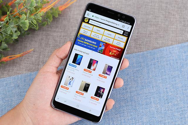 Cấu hình điện thoại Samsung Galaxy A8+ (2018)