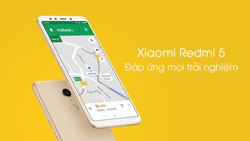 Trải nghiệm điện thoại Xiaomi Redmi 5