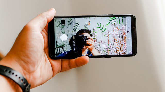 Thử nghiệm camera selfie của điện thoại OPPO A83